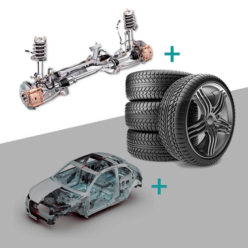 Adaptación ruedas